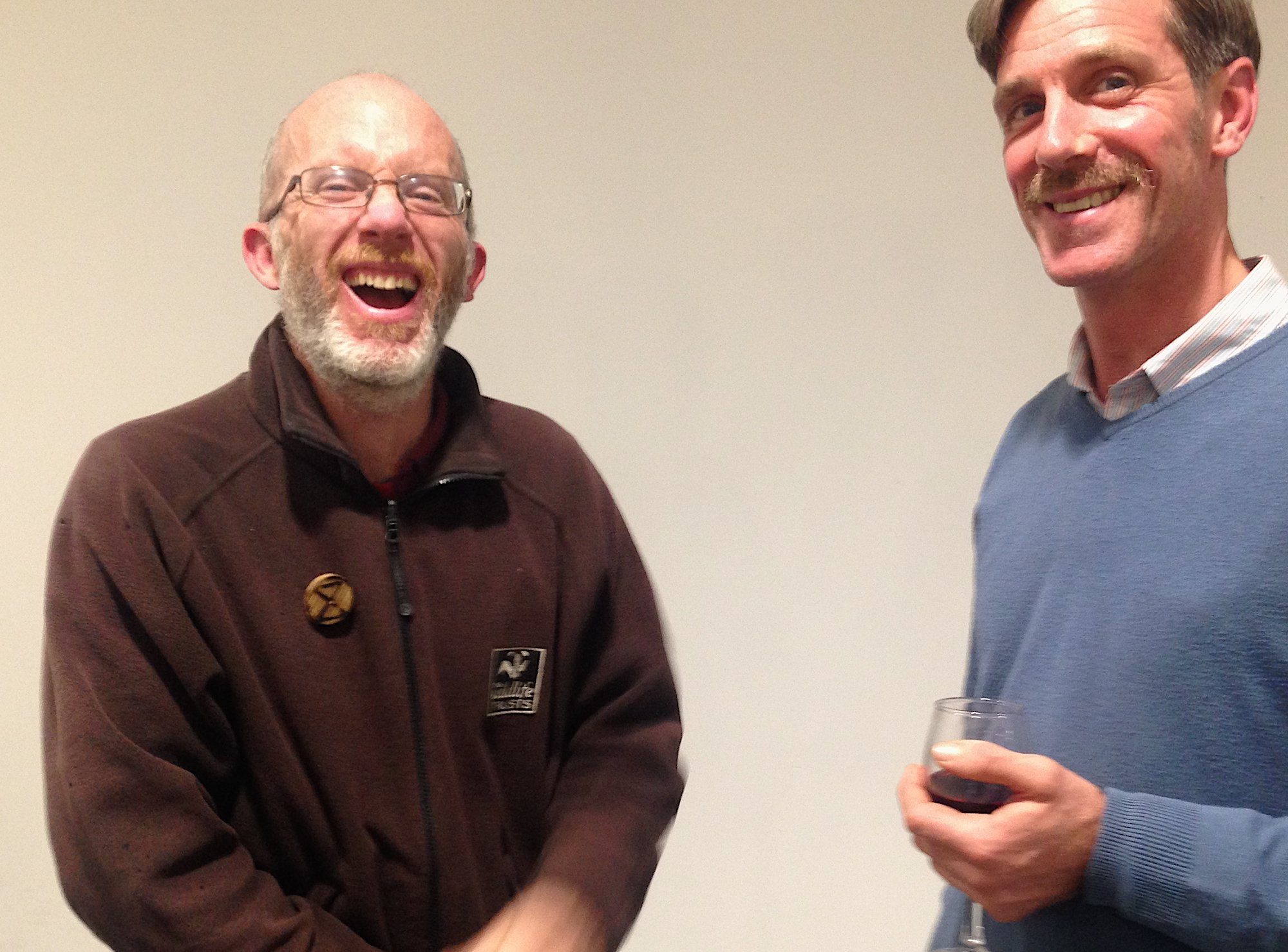 Cambridge conservation - Iain Webb (Cambridge Wildlife Trust) & Rob Mungovan (local ecologist)
